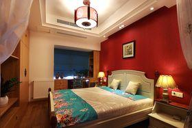 50平米小户型中式风格卧室设计图