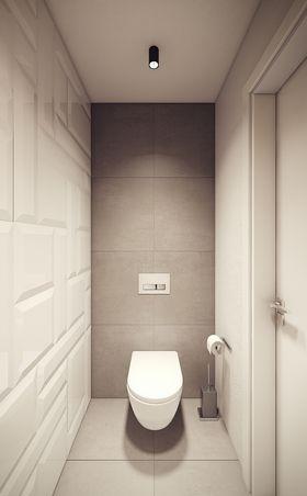富裕型80平米一室一厅北欧风格卫生间图片大全