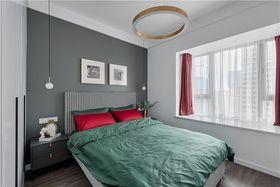 60平米北欧风格卧室图片