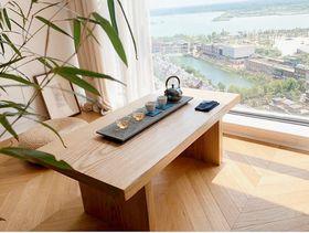 110平米三室两厅日式风格书房装修图片大全