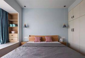 90平米三室一廳現代簡約風格臥室效果圖