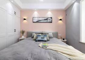 80平米三室一厅现代简约风格卧室图片