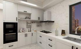 110平米北欧风格厨房图