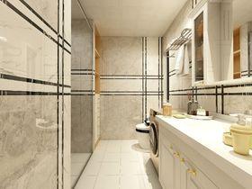 100平米三室两厅混搭风格卫生间设计图