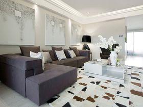 15-20万110平米三室一厅现代简约风格客厅图片大全