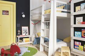 90平米三现代简约风格儿童房装修图片大全