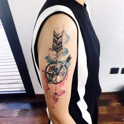 南沟-作品秀纹身款式图-大众点评纹身图案大全