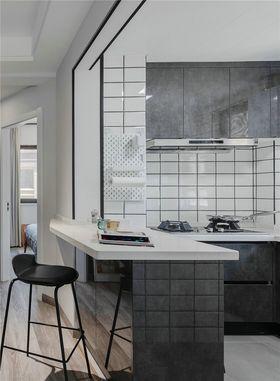 90平米三室两厅混搭风格厨房装修案例