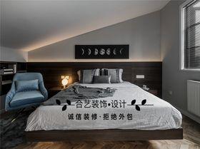 110平米复式现代简约风格卧室设计图