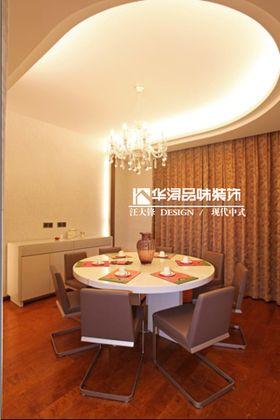 15-20万140平米别墅中式风格餐厅设计图