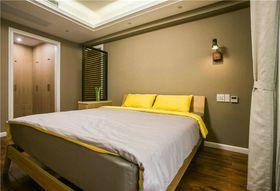 富裕型90平米三室两厅北欧风格卧室效果图