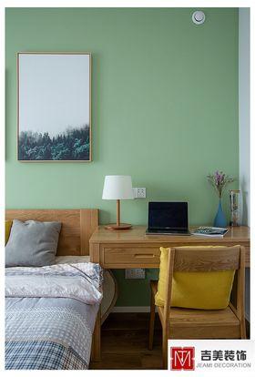 80平米三日式风格卧室装修效果图