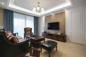 70平米三室两厅美式风格客厅图片