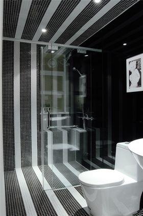 130平米三室两厅混搭风格卫生间图
