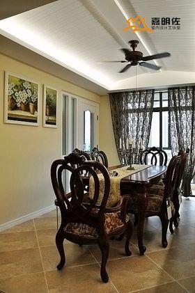 10-15万140平米四室两厅美式风格餐厅装修案例