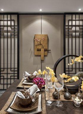 3-5万30平米小户型中式风格餐厅欣赏图