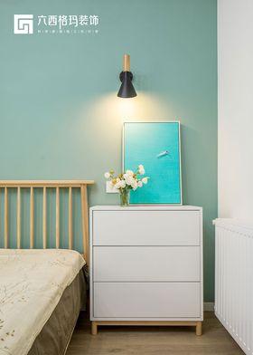 130平米现代简约风格卧室图片大全