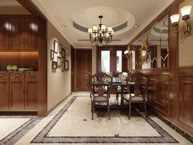 140平米美式风格餐厅图片大全