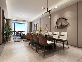 110平米現代簡約風格餐廳裝修案例