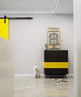70平米一室一厅北欧风格玄关图片