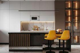 80平米公寓现代简约风格厨房欣赏图