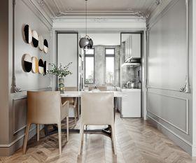 15-20万120平米三室两厅法式风格餐厅图片大全