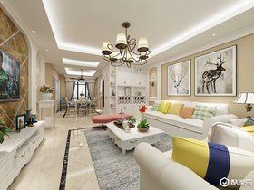 140平米四田园风格客厅装修案例