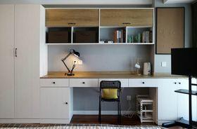 60平米公寓现代简约风格书房装修图片大全