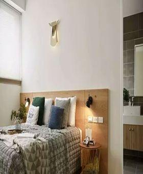 20万以上120平米三室一厅现代简约风格卧室装修图片大全
