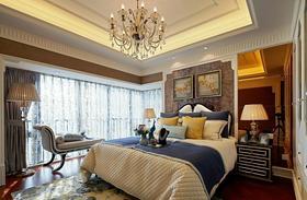 100平米新古典风格卧室设计图
