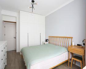 60平米一室一廳現代簡約風格臥室效果圖