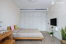 120平米三室兩廳北歐風格臥室圖