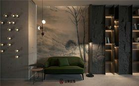 100平米一室两厅现代简约风格玄关欣赏图