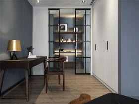 110平米三室两厅混搭风格卧室装修效果图