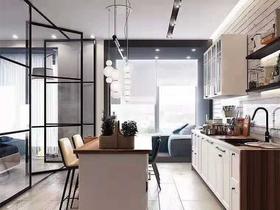 50平米小户型现代简约风格厨房图片