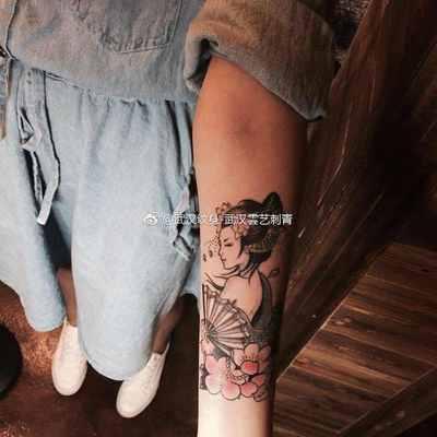 艺伎纹身图-大众点评纹身图案大全