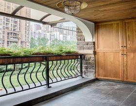 140平米三现代简约风格阳台欣赏图