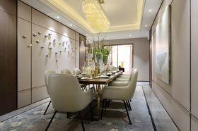 110平米三室两厅中式风格餐厅图