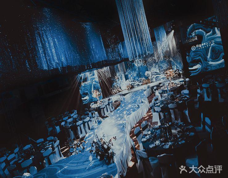 【【神秘唯美蓝色星空海洋】星辰大海-结婚套餐】-婚