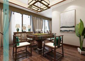 140平米四室四厅中式风格中式家具设计图