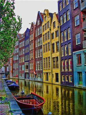 <b>阿姆斯特丹彩色蜜月王国感受色彩的魅力</b>