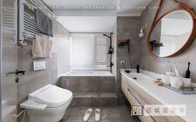 120平米三室两厅北欧风格卫生间图片
