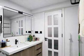 50平米一室一厅北欧风格卫生间装修效果图