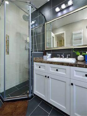 100平米三室两厅美式风格卫生间欣赏图