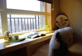 50平米小户型日式风格书房图