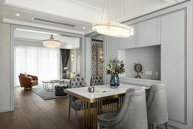 140平米三室兩廳美式風格廚房圖