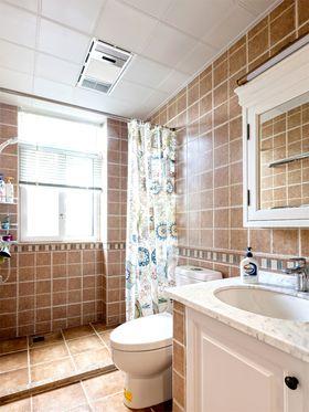 5-10万120平米三室两厅混搭风格卫生间装修图片大全