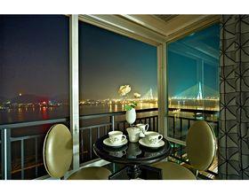 120平米三室一厅现代简约风格阳台欣赏图