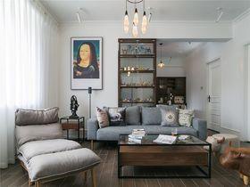 90平米北欧风格客厅装修图片大全
