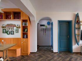 90平米三现代简约风格走廊欣赏图